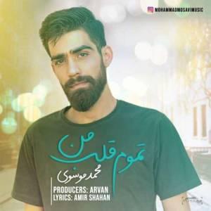 دانلود آهنگ محمد موسوی با نام تموم قلب من